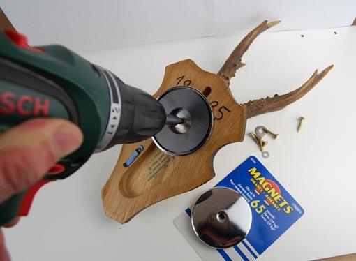 rundmagnet 2 st ck runder magnet magnet scheibe 31 x 4 mm 2 kg verchromt ebay. Black Bedroom Furniture Sets. Home Design Ideas