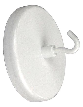 magnethaken extra starker magnet haken hakenmagnet ca 63 mm bis zu 24 kg neu ebay. Black Bedroom Furniture Sets. Home Design Ideas