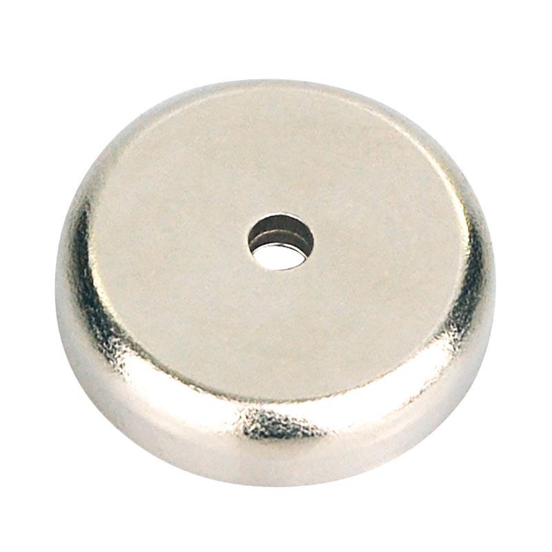 neodym magnet superstark mit chromblende ca 25 4 mm bis. Black Bedroom Furniture Sets. Home Design Ideas