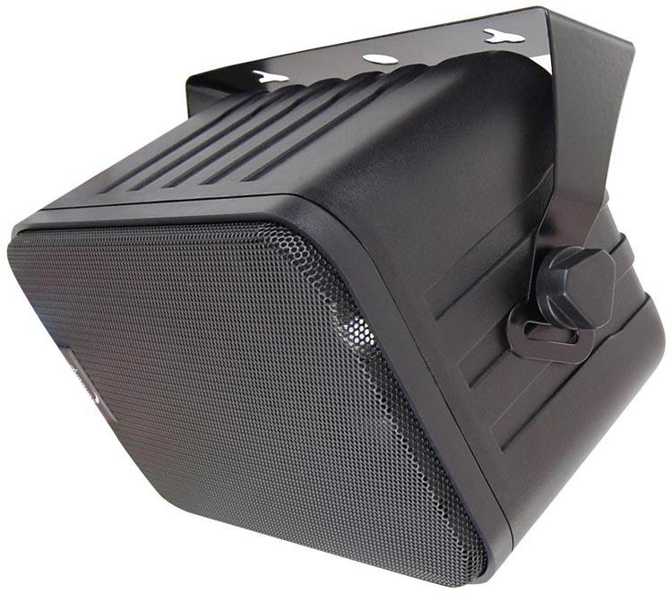 3 wege boxen mit halterung schwarz paar 120 w lautsprecher f r decke und wand ebay. Black Bedroom Furniture Sets. Home Design Ideas