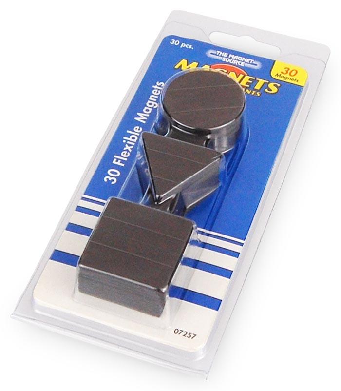 Neu verschiedene Formen Magnet Set Magnetset Ideal zum Basteln 30 Teile