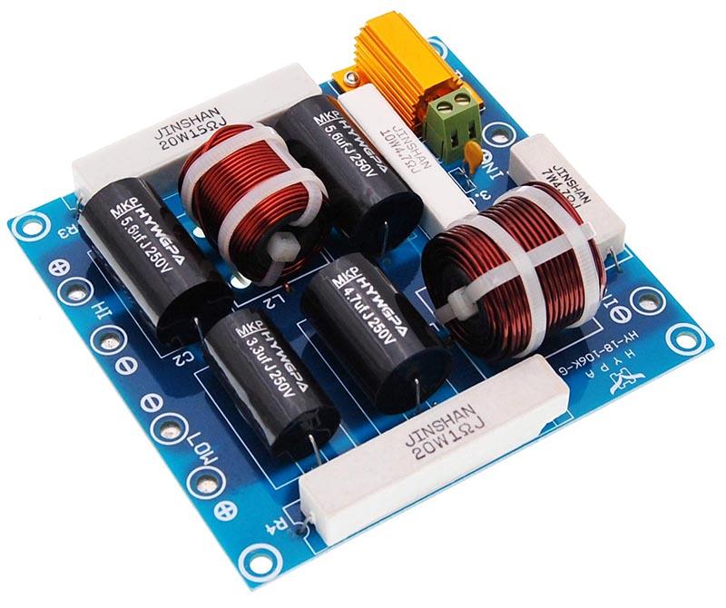 dynavox 2 wege frequenzweiche 2w300 profi rms 300 watt 8. Black Bedroom Furniture Sets. Home Design Ideas