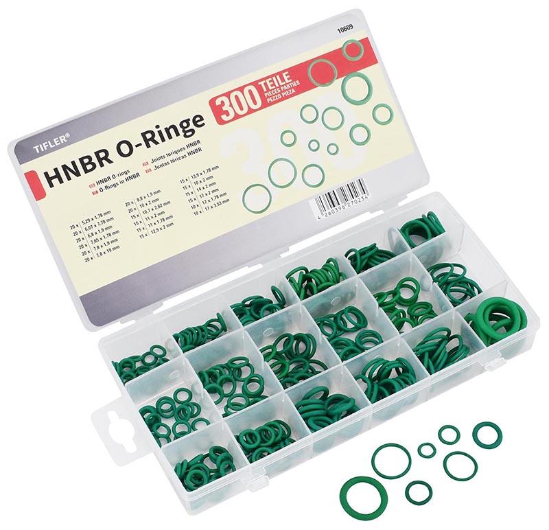HNBR O-Ringe, 270 Stück im Set von TIFLER