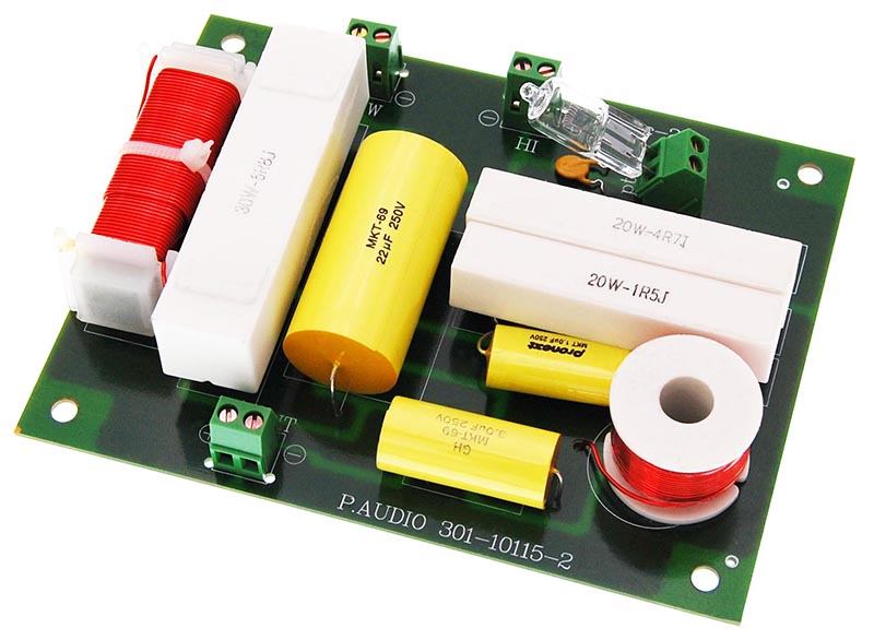 kenford 2 wege frequenzweiche pro 200 watt lautsprecher. Black Bedroom Furniture Sets. Home Design Ideas